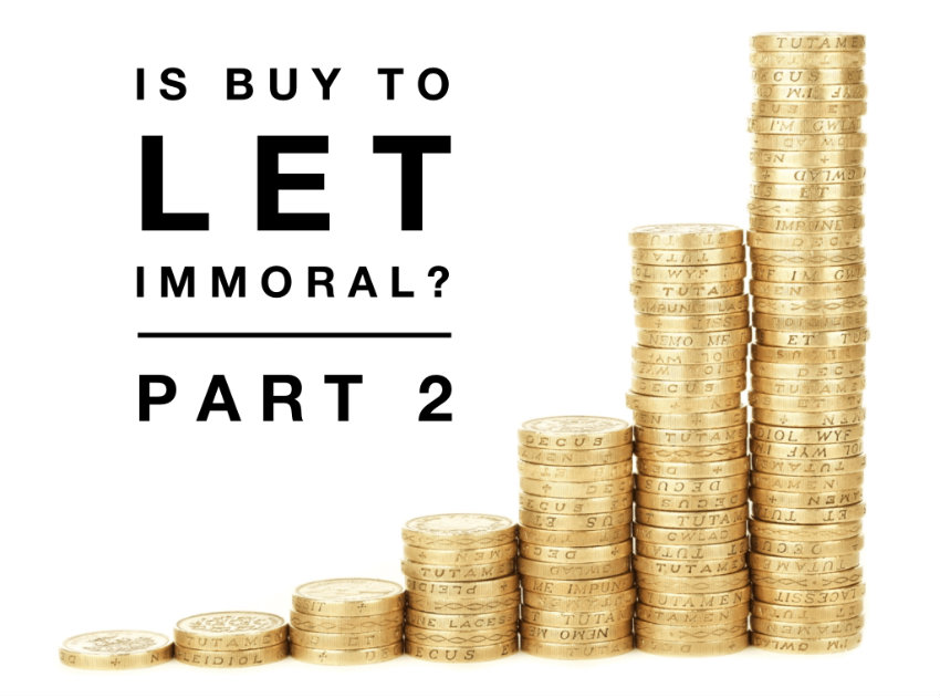 Is Buy To Let Immoral? (Part 2) – £6m A Year Black Hole In The Sawbridgeworth Property Market