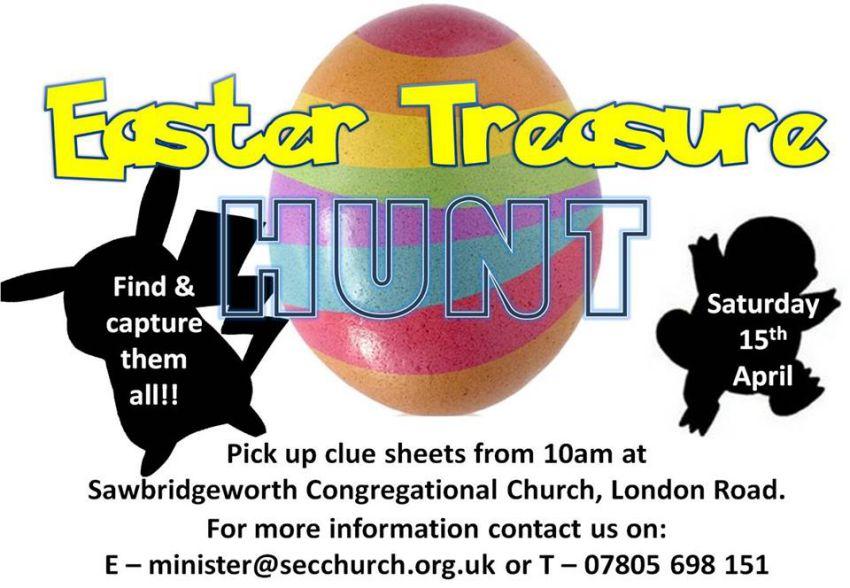 Sawbridgeworth Easter Treasure Hunt!