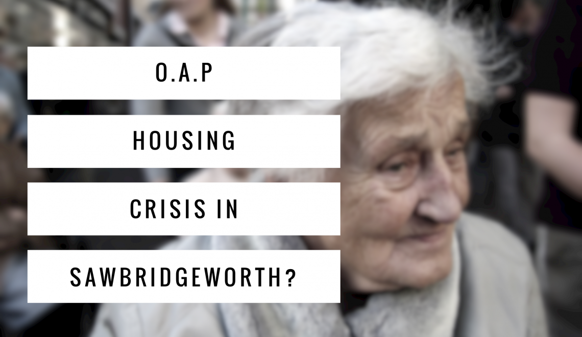 Should The 1,508 Home Owning OAP's Of Sawbridgeworth Be Forced To Downsize?