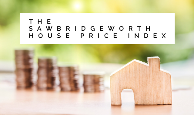 The Sawbridgeworth House Price Index: 172.09